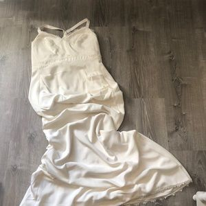 Nicole Miller Tonya Wedding Dress - Altered